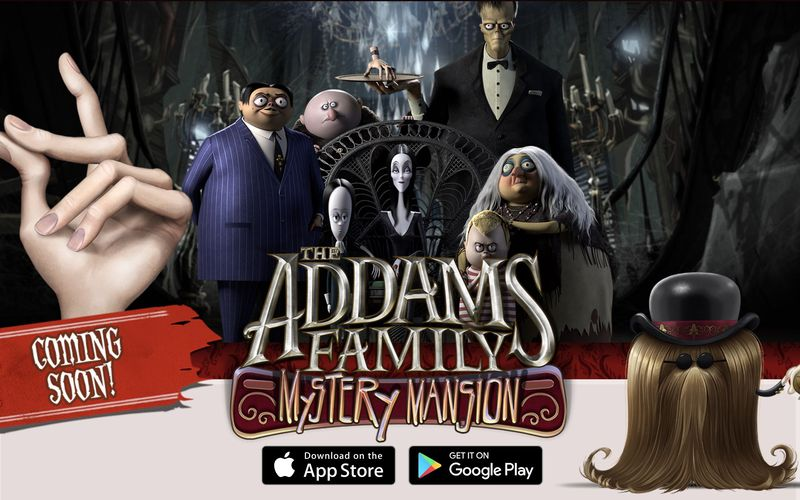 Game Nostalgia – The Addams Family Mystery Mansion