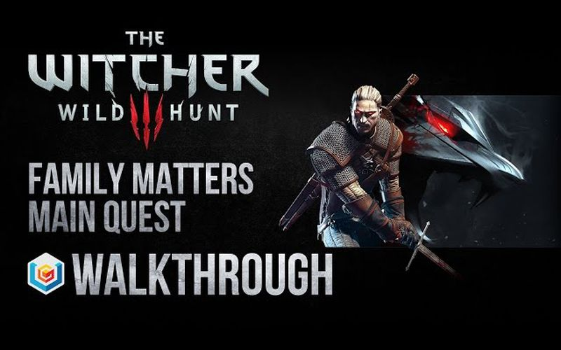 Quest The Witcher 3 Family Matters